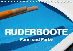 Ruderboote – Form und Farbe (Tischkalender 2019 DIN A5 quer) von Kraetschmer,  Marion