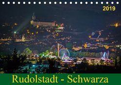 Rudolstadt – Schwarza (Tischkalender 2019 DIN A5 quer) von Wenk / Wenki,  Michael