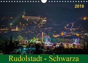 Rudolstadt – Schwarza (Wandkalender 2019 DIN A4 quer) von Wenk / Wenki,  Michael
