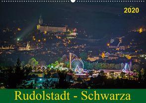 Rudolstadt – Schwarza (Wandkalender 2020 DIN A2 quer) von Wenk / Wenki,  Michael