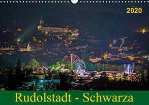 Rudolstadt – Schwarza (Wandkalender 2020 DIN A3 quer) von Wenk / Wenki,  Michael
