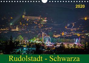 Rudolstadt – Schwarza (Wandkalender 2020 DIN A4 quer) von Wenk / Wenki,  Michael