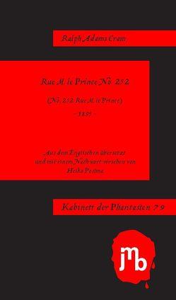 Rue M. le Prince No. 252 von Cram,  Ralph Adams, Postma,  Heiko