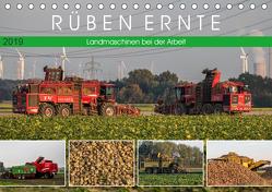 Rüben Ernte (Tischkalender 2019 DIN A5 quer) von SchnelleWelten
