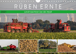 Rüben Ernte (Wandkalender 2021 DIN A4 quer) von SchnelleWelten
