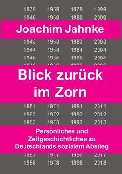 Rückblick im Zorn von Jahnke,  Joachim