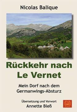 Rückkehr nach Le Vernet von Balique,  Nicolas, Bleß,  Annette