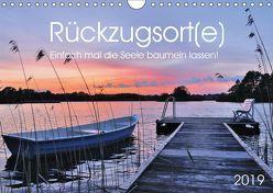 Rückzugsort(e) (Wandkalender 2019 DIN A4 quer) von Düll,  Sigrun