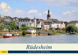 Rüdesheim – Eine Perle am Mittelrhein (Tischkalender 2021 DIN A5 quer) von Klatt,  Arno