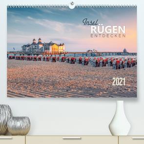 Rügen entdecken (Premium, hochwertiger DIN A2 Wandkalender 2021, Kunstdruck in Hochglanz) von Wiemer,  Dirk