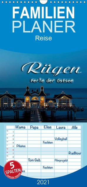 Rügen – Familienplaner hoch (Wandkalender 2021 , 21 cm x 45 cm, hoch) von Portenhauser,  Ralph