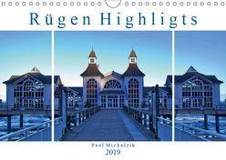Rügen Highlights (Wandkalender 2019 DIN A4 quer) von Michalzik,  Paul
