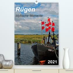 Rügen-Idyllische Momente (Premium, hochwertiger DIN A2 Wandkalender 2021, Kunstdruck in Hochglanz) von Loebus,  Eberhard