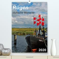 Rügen-Idyllische Momente (Premium, hochwertiger DIN A2 Wandkalender 2020, Kunstdruck in Hochglanz) von Loebus,  Eberhard