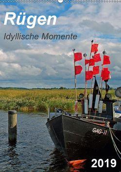 Rügen-Idyllische Momente (Wandkalender 2019 DIN A2 hoch) von Loebus,  Eberhard