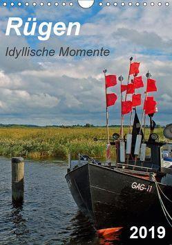 Rügen-Idyllische Momente (Wandkalender 2019 DIN A4 hoch) von Loebus,  Eberhard