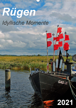 Rügen-Idyllische Momente (Wandkalender 2021 DIN A2 hoch) von Loebus,  Eberhard