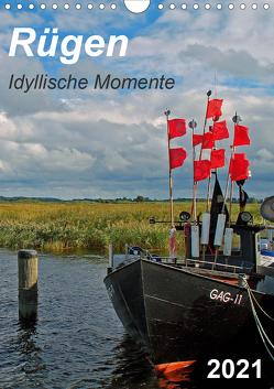 Rügen-Idyllische Momente (Wandkalender 2021 DIN A4 hoch) von Loebus,  Eberhard