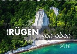 Rügen von oben (Wandkalender 2018 DIN A2 quer) von Kilmer,  Sascha