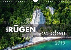 Rügen von oben (Wandkalender 2018 DIN A4 quer) von Kilmer,  Sascha