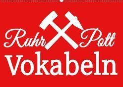Ruhrpott Vokabeln (Wandkalender 2019 DIN A2 quer) von Daus,  Christine
