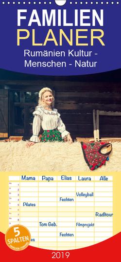 Rumänien Kultur – Menschen – Natur – Familienplaner hoch (Wandkalender 2019 , 21 cm x 45 cm, hoch) von und Jürgen Haberhauer,  Ruth