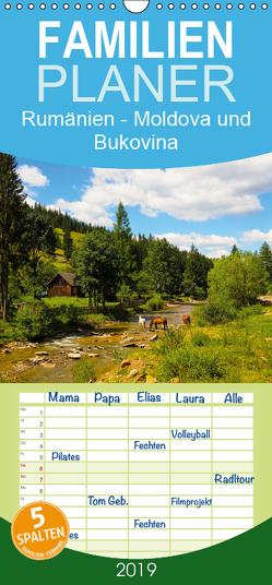 Rumänien – Moldova und Bukovina – Familienplaner hoch (Wandkalender 2019 , 21 cm x 45 cm, hoch) von Hegerfeld-Reckert,  Anneli