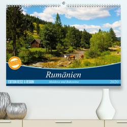 Rumänien – Moldova und Bukovina (Premium, hochwertiger DIN A2 Wandkalender 2020, Kunstdruck in Hochglanz) von Hegerfeld-Reckert,  Anneli