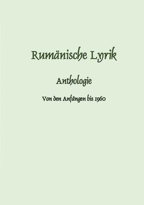Rumänische Lyrik von Depner,  Melitta
