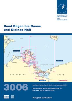 Rund Rügen bis Rønne und Kleines Haff von Bundesamt für Seeschifffahrt und Hydrographie