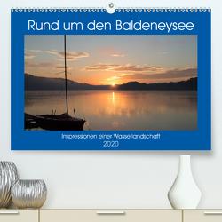 Rund um den Baldeneysee (Premium, hochwertiger DIN A2 Wandkalender 2020, Kunstdruck in Hochglanz) von Hitzbleck,  Rolf