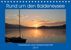 Rund um den Baldeneysee (Tischkalender 2019 DIN A5 quer) von Hitzbleck,  Rolf