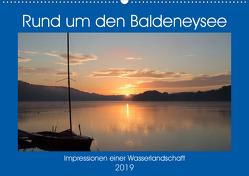 Rund um den Baldeneysee (Wandkalender 2019 DIN A2 quer) von Hitzbleck,  Rolf