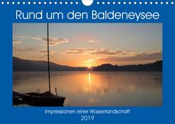 Rund um den Baldeneysee (Wandkalender 2019 DIN A4 quer) von Hitzbleck,  Rolf