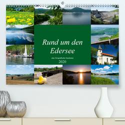 Rund um den Edersee (Premium, hochwertiger DIN A2 Wandkalender 2020, Kunstdruck in Hochglanz) von W. Lambrecht,  Markus