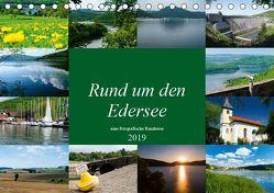 Rund um den Edersee (Tischkalender 2019 DIN A5 quer) von W. Lambrecht,  Markus
