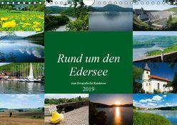 Rund um den Edersee (Wandkalender 2019 DIN A4 quer) von W. Lambrecht,  Markus