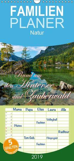 Rund um den Hintersee und Zauberwald – Familienplaner hoch (Wandkalender 2019 <strong>21 cm x 45 cm</strong> hoch) von Wilczek,  Dieter-M.