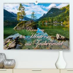 Rund um den Hintersee und Zauberwald (Premium, hochwertiger DIN A2 Wandkalender 2021, Kunstdruck in Hochglanz) von Wilczek,  Dieter-M.