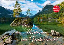 Rund um den Hintersee und Zauberwald (Wandkalender 2021 DIN A2 quer) von Wilczek,  Dieter-M.