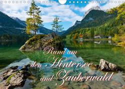 Rund um den Hintersee und Zauberwald (Wandkalender 2021 DIN A4 quer) von Wilczek,  Dieter-M.