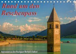 Rund um den Reschenpass (Tischkalender 2019 DIN A5 quer) von Wenk,  Marcel