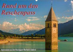 Rund um den Reschenpass (Wandkalender 2019 DIN A2 quer) von Wenk,  Marcel