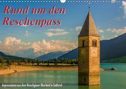 Rund um den Reschenpass (Wandkalender 2019 DIN A3 quer) von Wenk,  Marcel