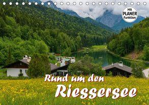 Rund um den Riessersee (Tischkalender 2018 DIN A5 quer) von Wilczek,  Dieter-M.