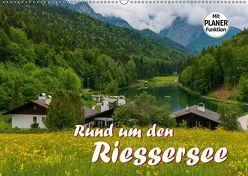 Rund um den Riessersee (Wandkalender 2019 DIN A2 quer) von Wilczek,  Dieter-M.