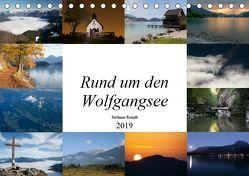 Rund um den Wolfgangsee (Tischkalender 2019 DIN A5 quer) von Reindl,  Stefanie