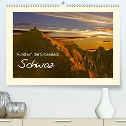 Rund um die Silberstadt SchwazAT-Version (Premium, hochwertiger DIN A2 Wandkalender 2020, Kunstdruck in Hochglanz) von Leon