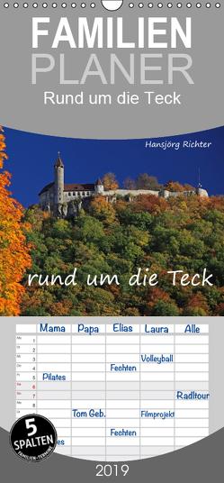Rund um die Teck – Familienplaner hoch (Wandkalender 2019 , 21 cm x 45 cm, hoch) von www.hjr-fotografie.de