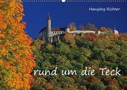Rund um die Teck (Wandkalender 2019 DIN A2 quer) von www.hjr-fotografie.de,  k.A.